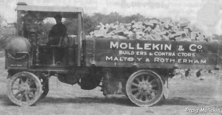 Mollekin & Company brick lorry