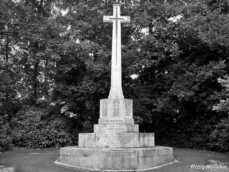 War Memorial, Swinton - 23.07.08 (8)