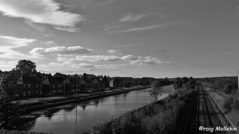 Wharf Road, Canal & Railway, Kilnhurst - 22.06.17